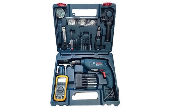 Bộ máy khoan Bosch GSB 550 Electrician