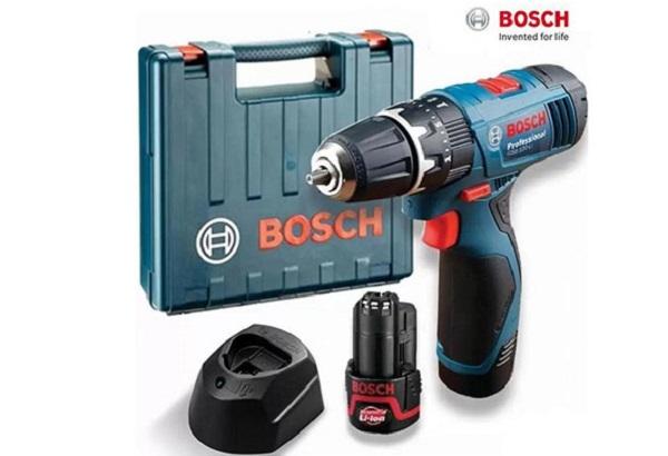 Máy khoan Bosch pin 12V Malaysia được yêu thích