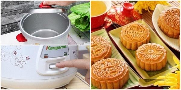 Các bước nướng bánh bằng nồi cơm điện