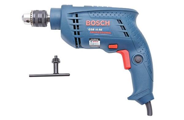 Máy khoan Bosch GSB 10RE có thiết kế nhỏ gọn