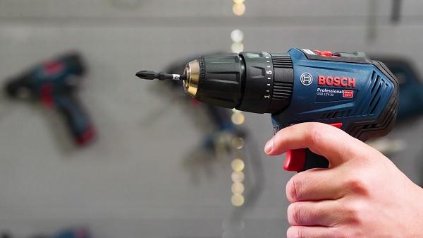 Máy khoan pin vặn vít Bosch 2 chế độ