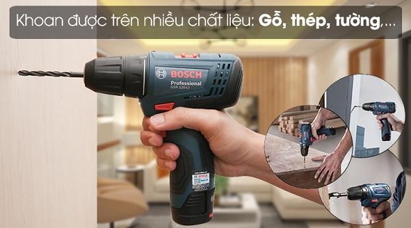 Máy khoan pin bắt vít Bosch GSR 120-LI