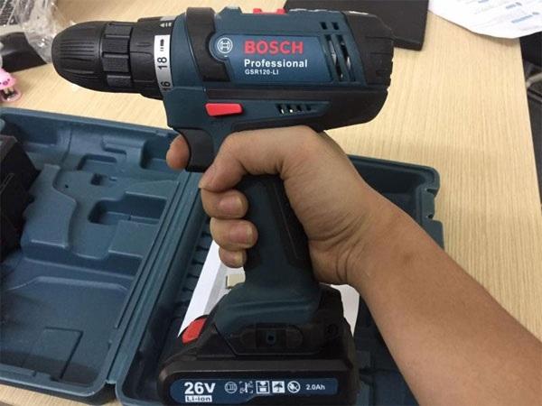 Chất lượng máy khoan pin Bosch 24V, 26V, 21V không ổn định