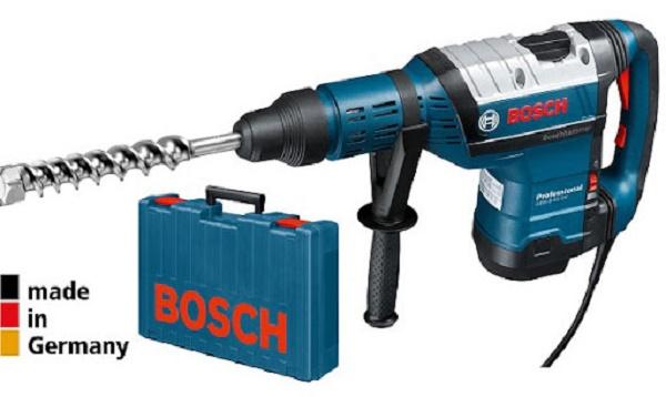 Hãng Bosch sản xuất các dòng máy đục bê tông chất lượng