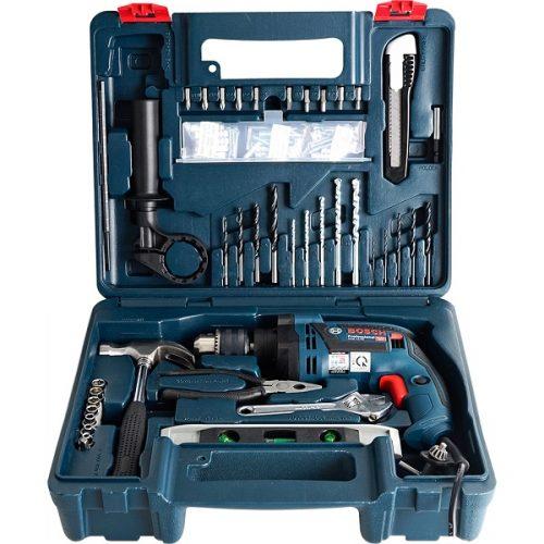Hộp sản phẩm máy khoan Bosch GSB 13Re SET 100
