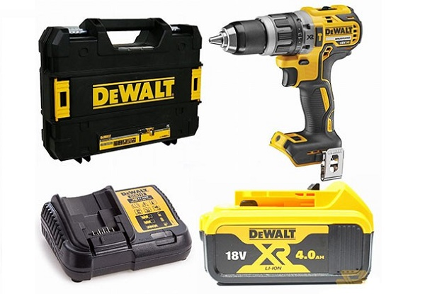 Máy khoan pin Dewalt DCD796M2 mang lại hiệu quả khoan tốt