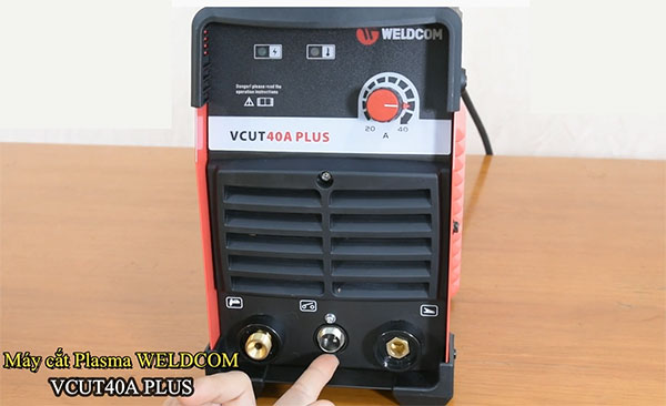 Máy cắt kim loại Plasma VCUT 40A Plus