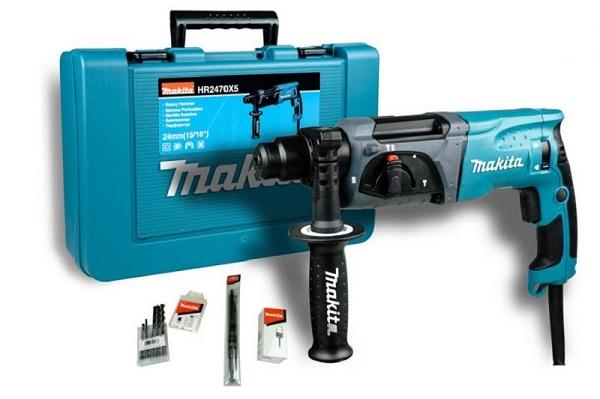 Hộp sản phẩm máy khoan bê tông Makita HR2470X5